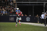 Mississippi Rebels wide receiver Laquon Treadwell (1) runs against Vanderbilt Commodores at Vaught-Hemingway Stadium at Ole Miss in Oxford, Miss. on Saturday, September 26, 2015. (AP Photo/Oxford Eagle, Bruce Newman)