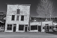 Dawson City, Yukon, old buildings