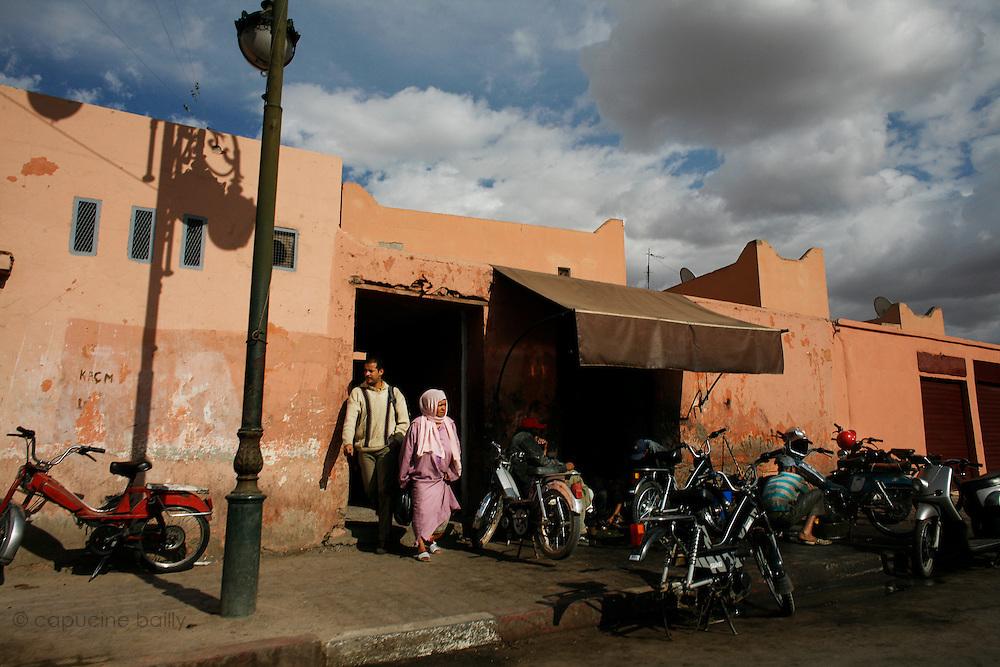 Marrakesh, Morocco. October 9th 2008..