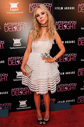 19.08.2013, ArcLight Hollywood, Hollywood, USA, Filmpremiere, Afternoon delight, im Bild Actress Juno Temple // during photocall for the movie Rush at the Villa Magna Hotel, Madrid, Spain on 2013/08/19. EXPA Pictures © 2013, PhotoCredit: EXPA/ Newspix/ MediaPunch Inc<br /> <br /> ***** ATTENTION - for AUT, SLO, CRO, SRB, BIH, TUR, SUI and SWE only *****
