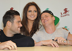 © Licensed to London News Pictures. 02/11/2013<br /> Made in Chelsea book signing (Life and Style Essentials) with<br />  Right to Left, Jamie Laing,Binky and Spencer Matthews  at W H SMITHS at Bluewater,Kent.<br /> Photo credit :Grant Falvey/LNP