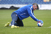 Bolton Wanderers Matthew Gilks<br /> <br /> Photographer Mick Walker/CameraSport<br /> <br /> The EFL League 2 - Mansfield Town v Bolton Wanderers  - Wednesday 17th February  2021 - One Call Stadium-Mansfield<br /> <br /> World Copyright © 2020 CameraSport. All rights reserved. 43 Linden Ave. Countesthorpe. Leicester. England. LE8 5PG - Tel: +44 (0) 116 277 4147 - admin@camerasport.com - www.camerasport.com
