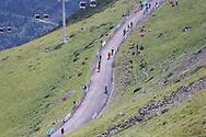 Geleral view from the Col du Portet during the 105th Tour de France 2018, Stage 17, Bagneres de Luchon - Col du Portet (65 km) on July 25th, 2018 - Photo George Deswijzen / Pro Shots / ProSportsImages / DPPI