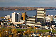 Anchorage the largest city in Alaska on the shores of Cook Inlet overlooking the Alaska and Chugach mountain ranges has a population of 275,000 people, 000 people000 people000 people
