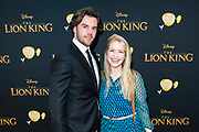 Nederlandse galapremiere van de Disney-klassieker Lion King in Pathe Tuschinski, Amsterdam.<br /> <br /> Op de foto:  Roel Dirven