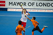 David Condon. England v Malaysia - 3rd/4th Playoff - Hockey World League Semi Final, Lee Valley Hockey and Tennis Centre, London, United Kingdom on 25 June 2017. Photo: Simon Parker