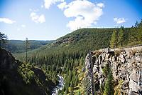 Tumalo Falls near Bend, Oregon.
