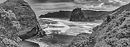 Piha (black and white)<br /> <br /> limited edition fine art print: standard print $145 +p&p<br /> archival textured $185 +p&p<br /> <br /> Printed on satin finish 200gsm photo paper, image size L:800mm x H:300mm. <br /> <br /> Larger print size available, easily up to L:1.5 metre (also available as canvas).<br /> <br /> To order direct, contact Alan info@alansquires.co.nz<br /> <br /> Available to view at Alan Squires Photography.<br /> <br /> To order direct, contact Alan info@alansquires.co.nz