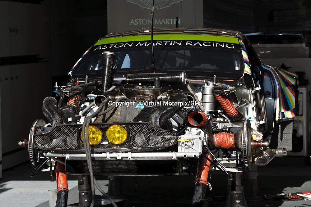 #97 Aston Martin Vantage V8, Aston Martin Racing, Robert Bell, Stefan Mucke, Darren Turner at Le Mans 24H, 2015