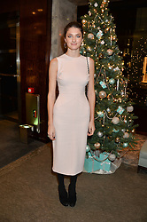 DAISY BEVAN at a VIP evening hosted by Joely Richardson at the Tiffany & Co Christmas Shop, Tiffany & Co Old Bond Street, London on 24th November 2013.