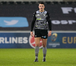 Ospreys' Owen Watkin<br /> <br /> Photographer Simon King/Replay Images<br /> <br /> European Rugby Champions Cup Round 5 - Ospreys v Saracens - Saturday 13th January 2018 - Liberty Stadium - Swansea<br /> <br /> World Copyright © Replay Images . All rights reserved. info@replayimages.co.uk - http://replayimages.co.uk