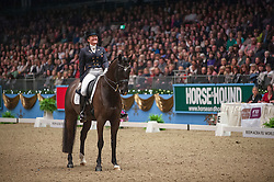 Johansen Sidsel (DEN) - Schianto<br /> Kur - Reem Acra FEI World Cup Dressage Qualifier - The London International Horse Show Olympia - London 2012<br /> © Hippo Foto - Jon Stroud