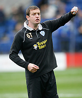 Photo: Steve Bond.<br />Leicester City v Barnsley. Coca Cola Championship. 27/10/2007.Gerry Taggert in temporary charge