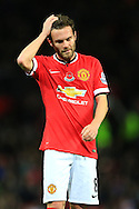 Juan Mata of Manchester United looks dejected - Manchester United vs. Crystal Palace - Barclay's Premier League - Old Trafford - Manchester - 08/11/2014 Pic Philip Oldham/Sportimage