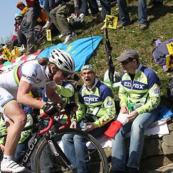 Sportfoto archief 2006-2010<br /> 2009<br /> World champion  Nicole Cooke (Vision1) on the Muur