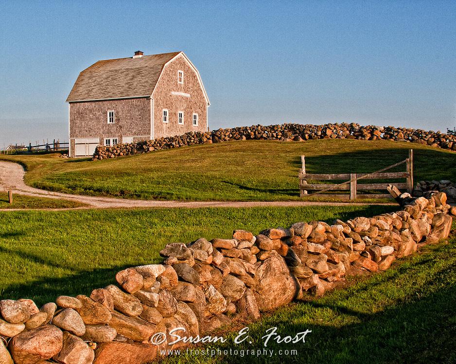 Mitchell Barn on Block Island, Rhode Island