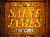 France, Martinique, Sainte-Marie, distillerie Saint-James qui abrite un musée du rhum // France, West Indies, Martinique, Sainte-Marie, Saint-James distillery which houses a rum museum