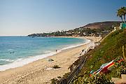 A Sandy Beach In Laguna Beach California