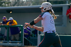 NORMAL, IL - April 06: Shannon Felde during a college women's softball game between the ISU Redbirds and the University of Northern Iowa Panthers on April 06 2019 at Marian Kneer Field in Normal, IL. (Photo by Alan Look)
