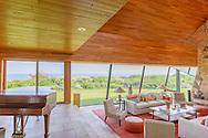 Modern Home Designed by Norman Jaffe, 380 Barons Lane, Southampton, NY, Long Island