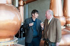 'Rebus' author Ian Rankin opens new distillery on ancient site | Newburgh | 5 October 2017.