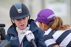 Natasha Baker, (GBR) - Team Competition Grade Ia Para Dressage - Alltech FEI World Equestrian Games™ 2014 - Normandy, France.<br /> © Hippo Foto Team - Jon Stroud <br /> 25/06/14