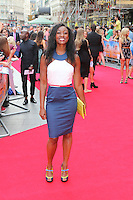 Beverley Knight, The Inbetweeners 2 - World Film Premiere, Leicester Square, London UK, 05 August 2014, Photo by Richard Goldschmidt