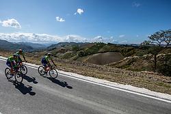 Tadej Pogacar, Domen Novak, Jan Polanc of Team Slovenia during Practice session at UCI Road World Championship 2020, on September 25, 2020 in Imola, Italy. Photo by Vid Ponikvar / Sportida