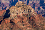 Vishnu Temple viewed from Cape Royal on the North Rim of the Grand Canyon