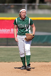 09 May 2014:  Sara Rogers during an NCAA Division III women's softball championship series game between the Lake Forest Foresters and the Illinois Wesleyan Titans in Bloomington IL