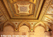 York, PA Historic Site York City, PA, Bank Ceiling Artwork Restoration