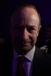 © Licensed to London News Pictures . 17/02/2018. Birmingham, UK. Henry Bolton leaves after losing as the result of a vote on whether to retain or dismiss Bolton as leader is declared . The NEC of UKIP meet to decide leader Henry Bolton's fate as leader following a racism row over his girlfriend Jo Marney and controversy over his claimed qualifications whilst serving in the military . Photo credit: Joel Goodman/LNP
