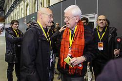 Barcelona, election night after the Catalan regional elections. 22 Dec 2017 Pictured: Raul Romeva, Esquerra Repubblicana. Photo credit: Fotogramma / MEGA TheMegaAgency.com +1 888 505 6342