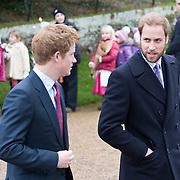 Royal Family Sandringham