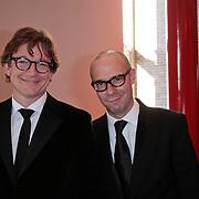 NLD/Breda/20111023 - Premiere De Producers, Paul de Groot en Owen Schumacher