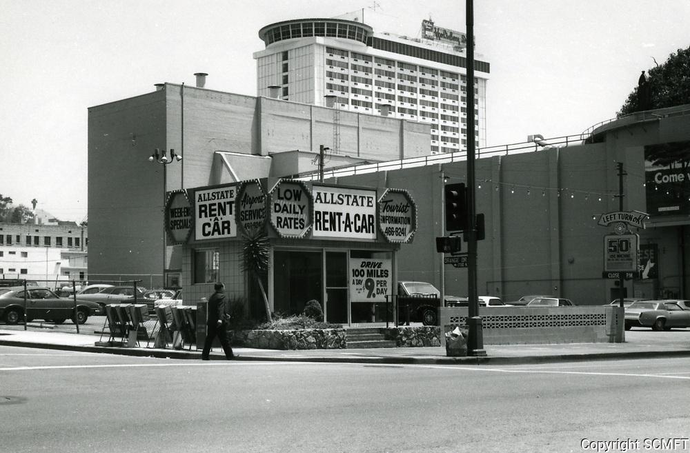 1973 NE corner of Hollywood Blvd. & Orchid Ave.