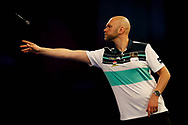 Sweden's Daniel Larsson during Day 6 of the Darts World Championship 2018 at Alexandra Palace, London, United Kingdom on 18 December 2018.