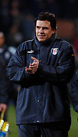 Photo: Daniel Hambury.<br />Fulham v Tottenham Hotspurs. Barclays Premiership. 31/01/2006.<br />Fulham manager Chris Coleman.