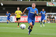AFC Wimbledon Cody McDonald (10) chasing a through ball during the Pre-Season Friendly match between AFC Wimbledon and Burton Albion at the Cherry Red Records Stadium, Kingston, England on 21 July 2017. Photo by Matthew Redman.