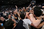 Festeggiamenti Vittoria Scudetto <br /> Segafredo Virtus Bologna - A X Armani Exchange Olimpia Milano<br /> Basket Serie A LBA 2020/2021 - Finale Playoff G4<br /> Bologna 11 June 2021<br /> Foto Mattia Ozbot / Ciamillo-Castoria