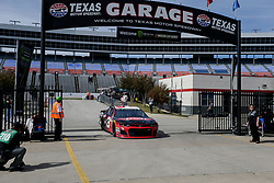 November 2, 2018 - Fort Worth, TX, U.S. - FORT WORTH, TX - NOVEMBER 02: Monster Energy NASCAR Cup Series driver Austin Dillon (3) drives through the garage area during practice for the AAA Texas 500 on November 02, 2018 at the Texas Motor Speedway in Fort Worth, Texas. (Photo by Matthew Pearce/Icon Sportswire) (Credit Image: © Matthew Pearce/Icon SMI via ZUMA Press)