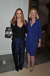 STELLA McCARTNEY and BARBARA-ANN KING of Barclays Wealth at the 2012 Luxury Briefing Awards in association with Bloomberg held at the Corinthia Hotel, London on 14th March 2012.