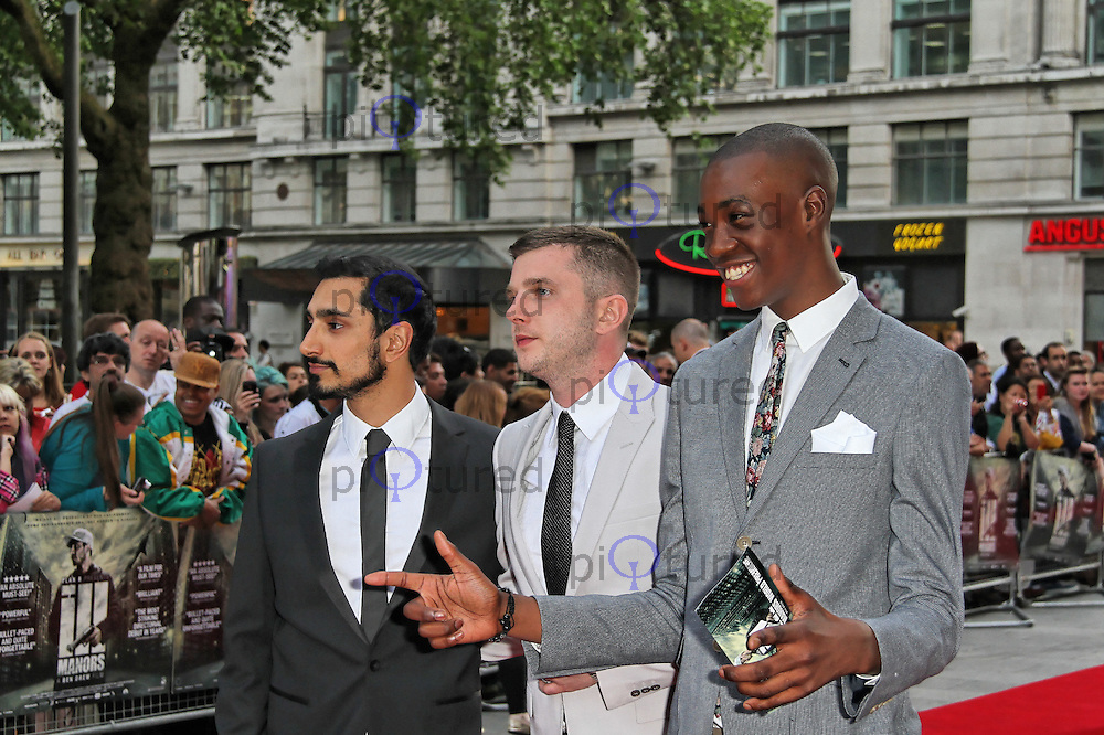 LONDON - MAY 30: Riz Ahmed; Ben Drew attends the World Film Premiere of 'Ill Manors' at the Empire Cinema, Leicester Square, London, UK. May 30, 2012. (Photo by Richard Goldschmidt)