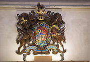 Royal Coat of Arms King Charles the second, St Mary-le-Tower church, Ipswich