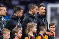 10-04-2019 NED: Champions League AFC Ajax - Juventus,  Amsterdam<br /> Round of 8, 1st leg / Ajax plays the first match 1-1 against Juventus during the UEFA Champions League first leg quarter-final football match / Cristiano Ronaldo #7 of Juventus, Leonardo Bonucci #19 of Juventus