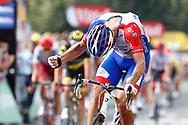Arrival, Jacopo Guarnieri (ITA - Groupama - FDJ) during the 105th Tour de France 2018, Stage 18, Trie sur Baise - Pau (172 km) on July 26th, 2018 - Photo Luca Bettini / BettiniPhoto / ProSportsImages / DPPI