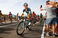 Rafal Majka (POL - Bora - Hansgrohe), during the UCI World Tour, Tour of Spain (Vuelta) 2018, Stage 9, Talavera de la Reina - La Covatilla 200,8 km in Spain, on September 3rd, 2018 - Photo Luca Bettini / BettiniPhoto / ProSportsImages / DPPI
