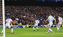 Ousmane Dembele of Barcelona scores his sides second goal - Mandatory by-line: Matt McNulty/JMP - 14/03/2018 - FOOTBALL - Camp Nou - Barcelona, Catalonia - Barcelona v Chelsea - UEFA Champions League - Round of 16 Second Leg