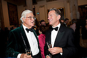 LORD CLARKE; MICHAEL PORTILLO, Man Booker prize 2011. Guildhall. London. 18 October 2011. <br /> <br />  , -DO NOT ARCHIVE-© Copyright Photograph by Dafydd Jones. 248 Clapham Rd. London SW9 0PZ. Tel 0207 820 0771. www.dafjones.com.