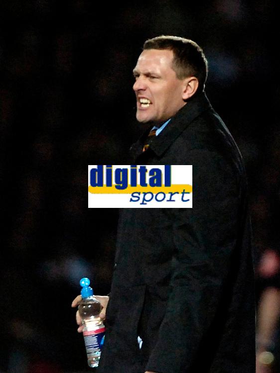 Photo: Ed Godden/Sportsbeat Images.<br /> Watford v Everton. The Barclays Premiership. 24/02/2007.<br /> Watford Manager Adrian Boothroyd.